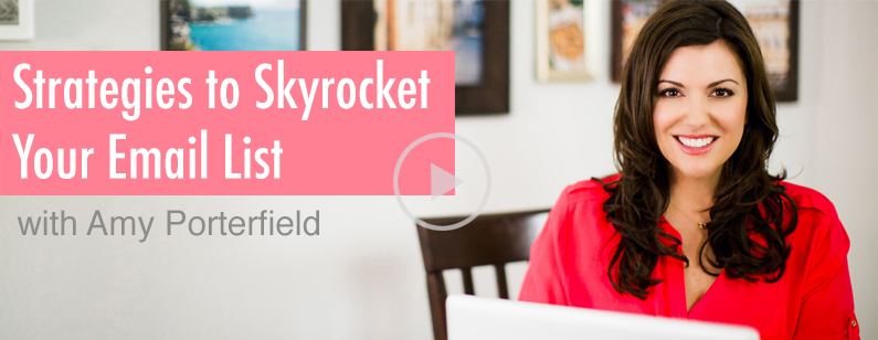 MTE #019: Amy Porterfield on Strategies to Skyrocket Your Email List